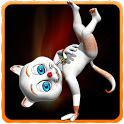 Dancing Cat : Miley icon