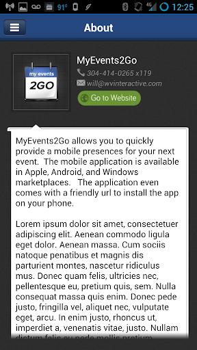 MyEvents2Go™
