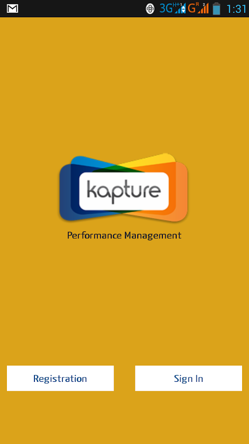 Kapture Mobile CRM- screenshot