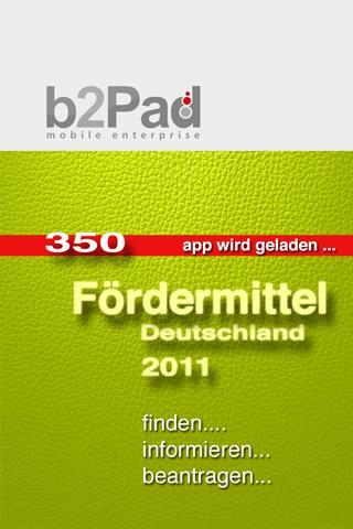 Fördermittel - screenshot