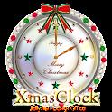 クリスマス時計ウィジェット001