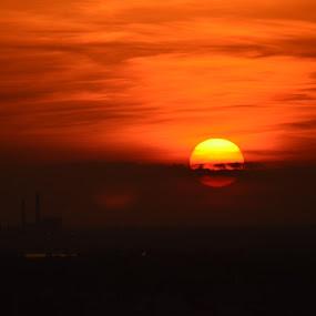 Biloxi Sunset by Sidney Vowell - Novices Only Landscapes ( biloxi, beaurivage, sunset, beautiful, sundown )