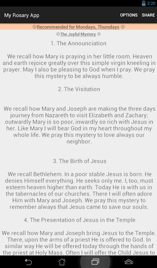 My Rosary App - Rosary Guide- screenshot