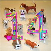Count Toy Dogs 1-20 FREE
