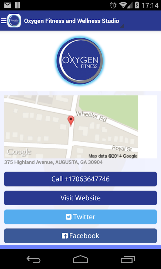 Oxygen Fit- screenshot