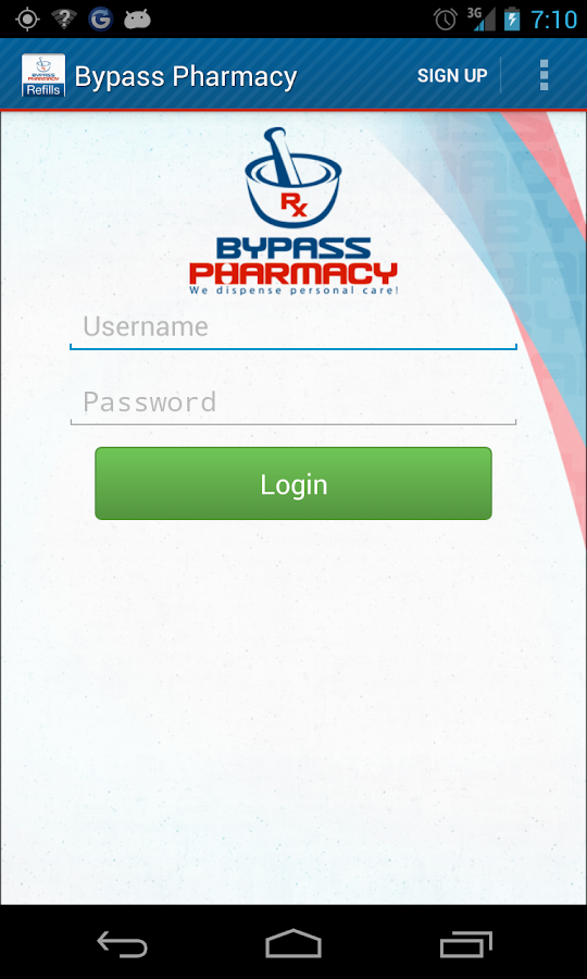 Bypass Pharmacy- screenshot