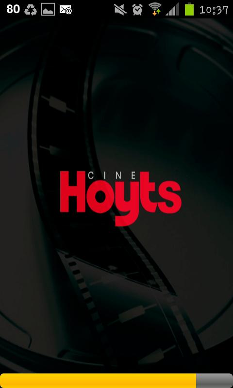 Hoyts Cinemas Chile - screenshot
