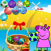 Pepy Pig Bubble Shooter