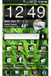 ADW Theme: Synergy - screenshot thumbnail