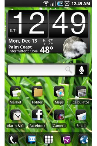 ADW Theme: Synergy - screenshot