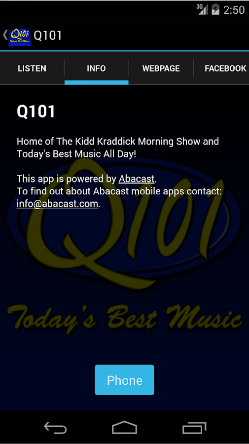 Q101- screenshot