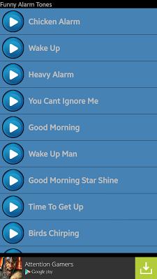 Funny Alarm Tones - screenshot