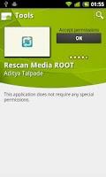 Screenshot of Rescan Media ROOT