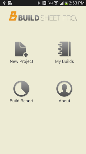 Build Sheet Pro