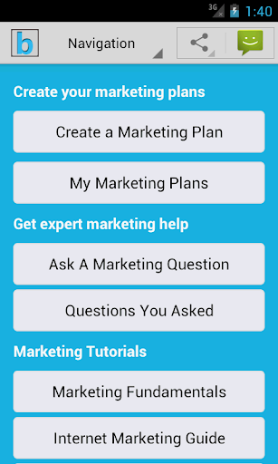Marketing Plan Strategy