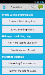 Marketing Plan & Strategy - screenshot thumbnail