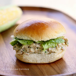 Slow Cooker Chicken Caesar Sandwiches Recipe