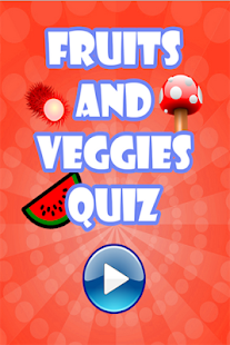 Kid's Fruit Vegetable Quiz