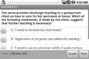 Screenshot of NCLEX-RN Exam Prep by UM