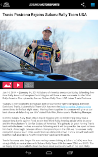 Subaru Motorsports- screenshot thumbnail