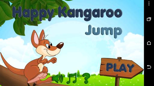 Happy Kangaroo Jump