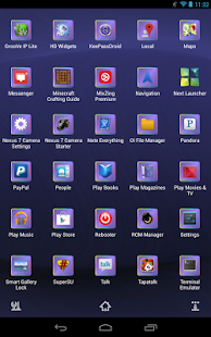 Next Launcher 3D Pastels- screenshot thumbnail