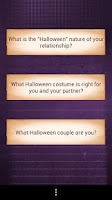 Screenshot of Love Test Halloween