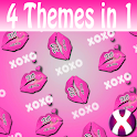 XOXO Lips Complete 4 Themes