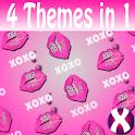 XOXO Lips Complete 4 Themes icon