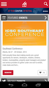 ICSC Mobile - screenshot thumbnail