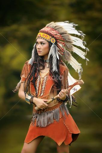 Apache women