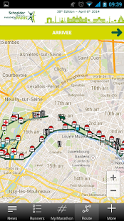 Paris Marathon 2014 - screenshot thumbnail