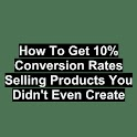 10% Convert Rates Sell Product logo