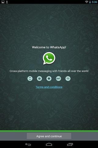 Instalar Whatsapp no Tablet