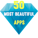 The 50 Most Beautiful Apps icon