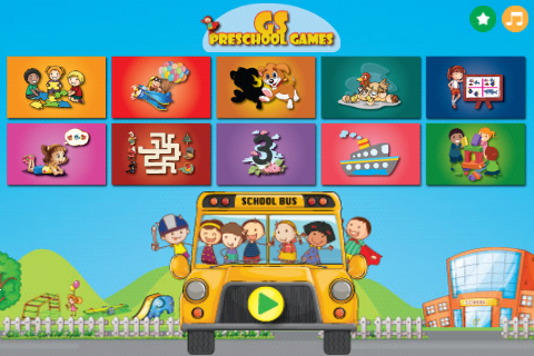 GS Preschool Games - screenshot
