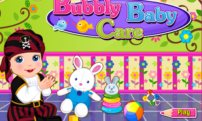 Bubbly Baby Care - Girl Game screenshot