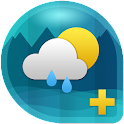 Weather & Clock Widget Ad Free icon