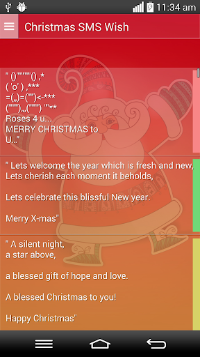 Christmas Sms Wish