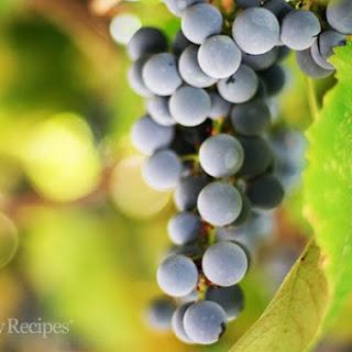 Homemade Grape Juice.
