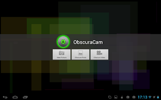 Screenshot of ObscuraCam