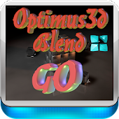 3D for GoLauncher OptimusBlend