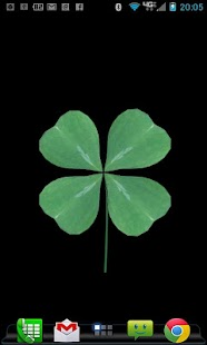FourLeaf Clover Live Wallpaper- screenshot thumbnail