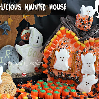 Boo-licious Haunted House with Sweet Creations by Good Cook and Giveaway #goodcookcom