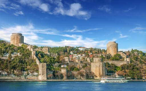 Rumelihisari-Istanbul-Turkey - The fortress Rumelihisarı in the Sarıyer district of Istanbul, Turkey.