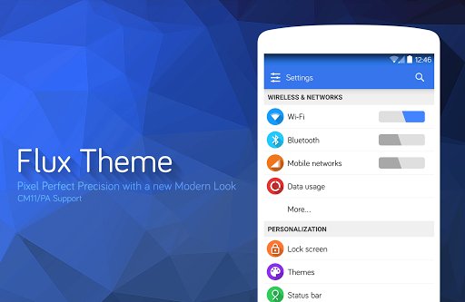 Flux White – CM11 Theme v2.0.0