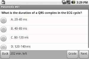 Screenshot of NREMT Paramedic Exam Prep