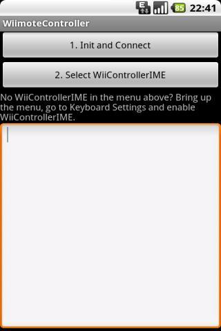 Wiimote Controller