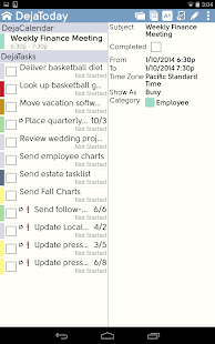 DejaOffice CRM with PC Sync- screenshot thumbnail