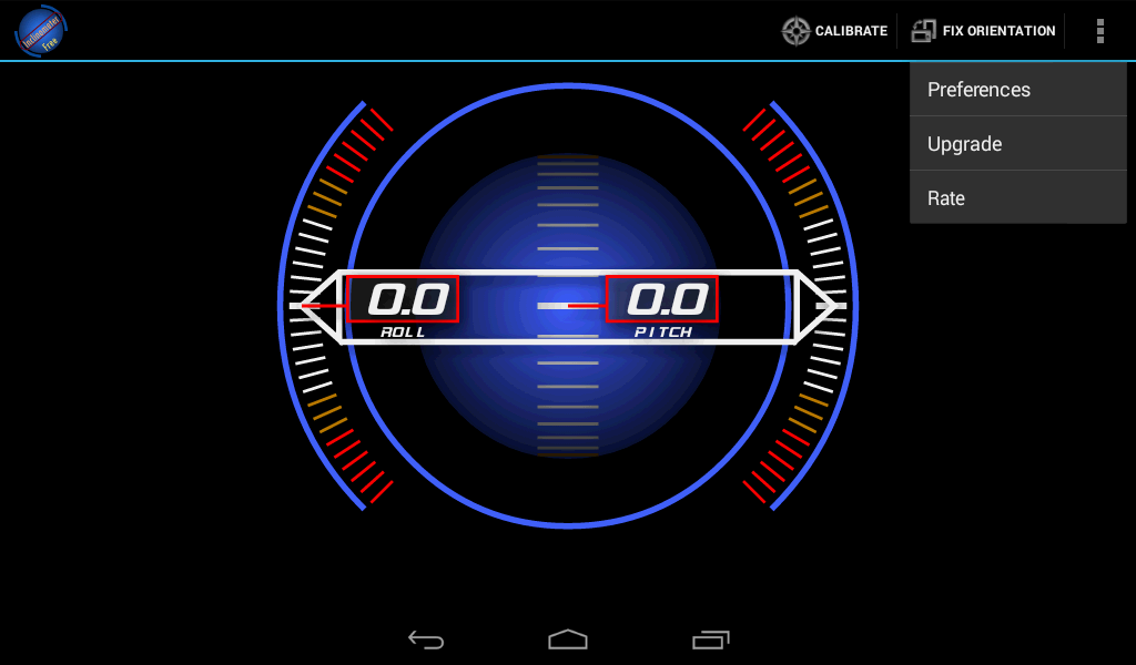 Inclinometer Free- screenshot